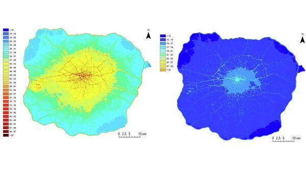 Загрязнение воздуха микрочастицами и диоксидом азота в Лондоне