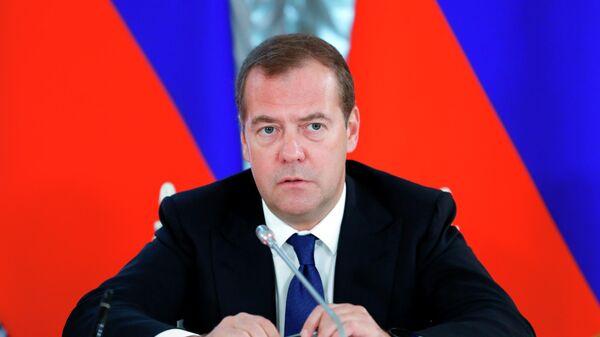 Дмитрий Медведев на пресс-конференции по итогам российско-словенских переговоров. 10 сентября 2019