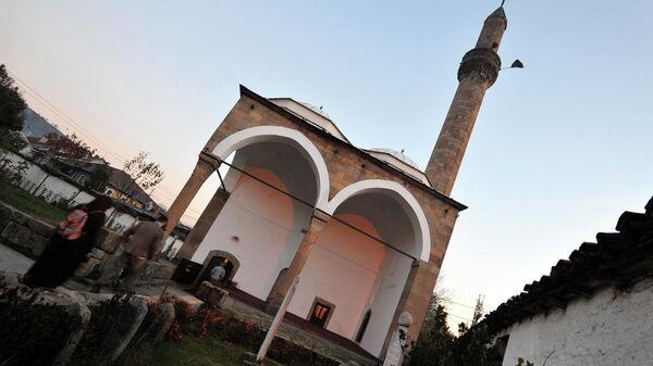 Центральная мечеть в городе Нови-Пазар, Сербия