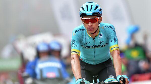 Капитан казахстанской команды Астана Мигель Анхель Лопес