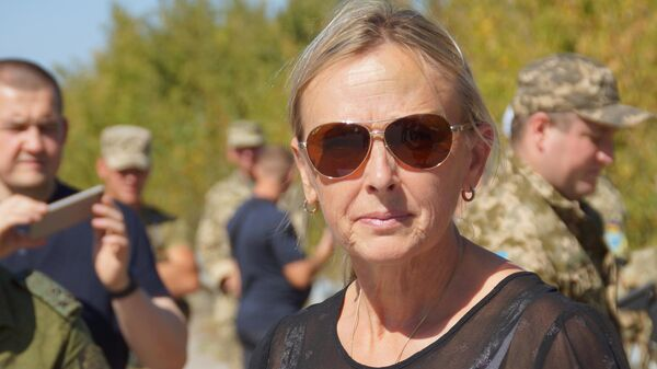 Представитель ЛНР в гуманитарной подгруппе по Донбассу Ольга Кобцева