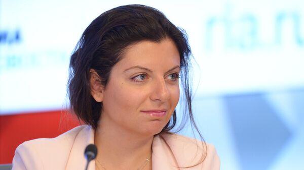 Главный редактор МИА Россия сегодня и телеканала RT Маргарита Симоньян