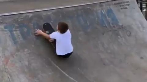 Российский скейтбордист без ног поразил мировую звезду
