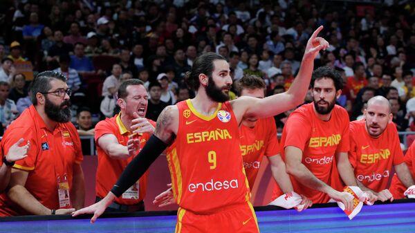 Баскетболист сборной Испании Рики Рубио
