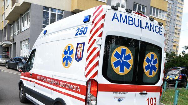 Автомобиль скорой помощи на Украине