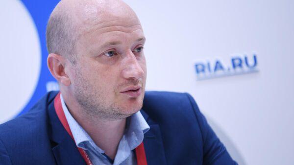 Директор Приморского филиала Центра Амурский тигр Сергей Арамилев
