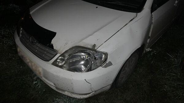 На месте ДТП в Кемерово, где легковой автомобиль сбил несовершеннолетнего пешехода