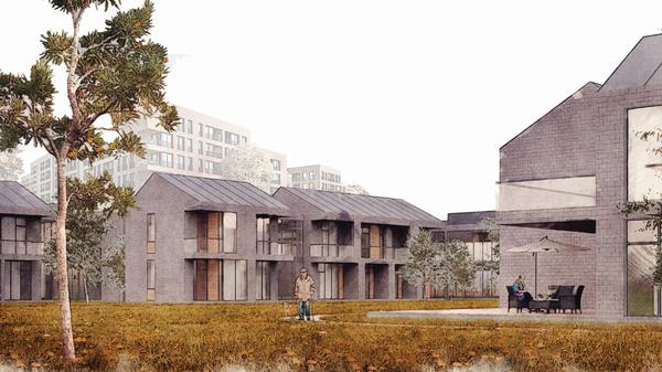 Проект зданий стационарных организаций социального обслуживания пожилых граждан