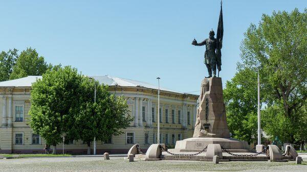 Памятник Донскому атаману Ермаку Тимофеевичу в Новочеркасске