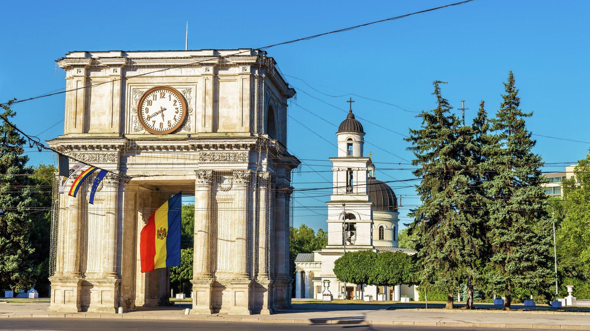 Триумфальная арка в Кишиневе - РИА Новости, 1920, 20.10.2020