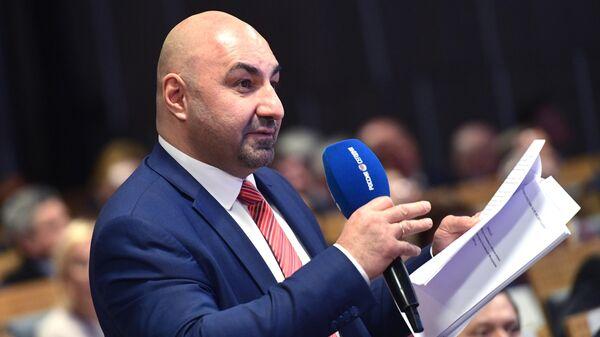 Президент РССС (Российского студенческого спортивного союза) Сергей Сейранов