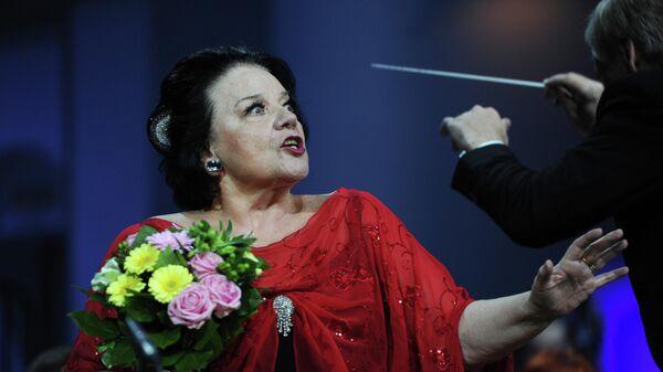 Солистка Мариинского театра Ирина Богачева