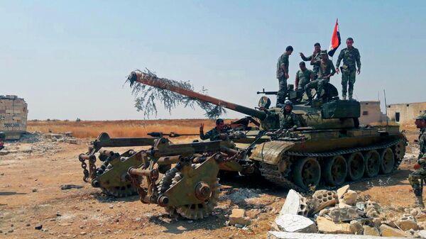 Военнные сирийской армии