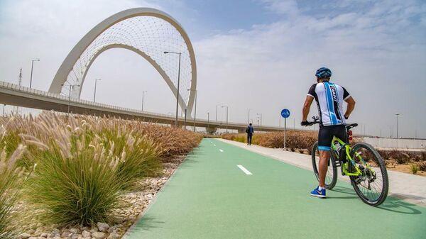 Велодорожка с защитой от жары к ЧМ-2022 в Катаре