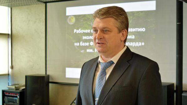 Директор нацпарка Земля леопарда Виктор Бардюк