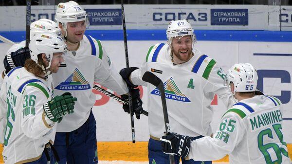 Хоккеисты уфимского Салавата Юлаева