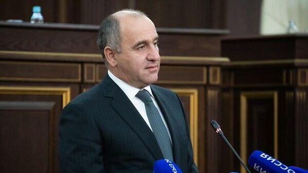 Сенатор Совета Федерации от законодательного органа КЧР Ахмат Салпагаров