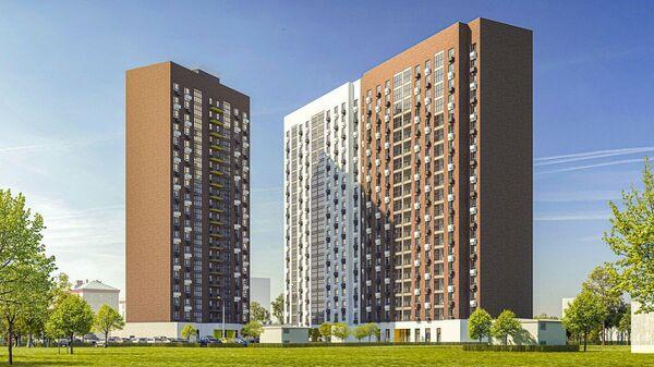 Проект жилья по программе реновации в московском районе Люблино