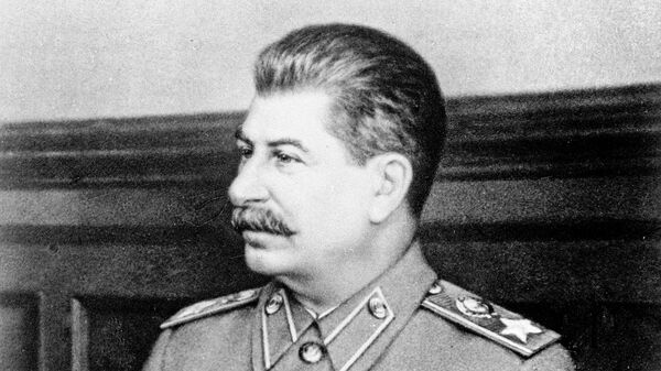 Председатель Совета Министров СССР Иосиф Виссарионович Сталин