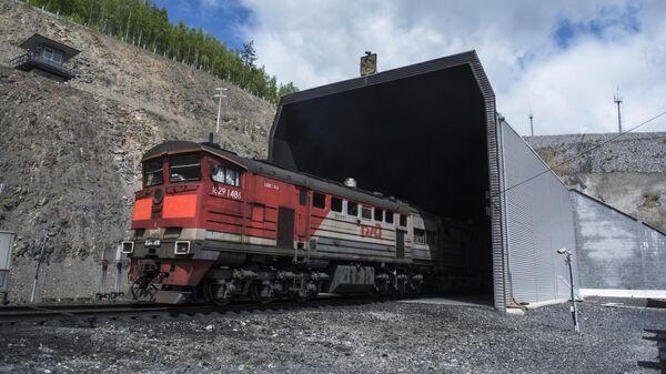 Кузнецовский тоннель на Байкало-Амурской магистрали