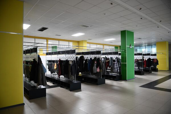 Новая гардеробная ГБОУ Школа №2070