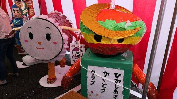 Фестиваль огородных пугал в Токио