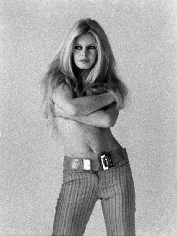 Актриса Брижит Бардо. 1968 год