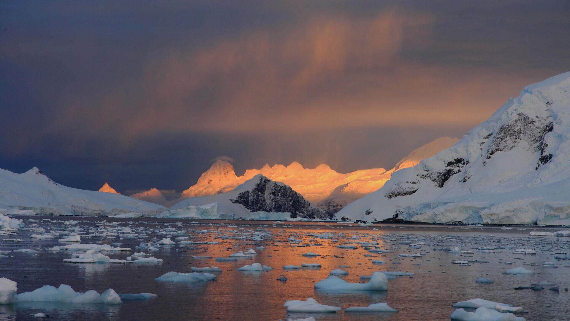 Полярник рассказал о работе в Антарктиде