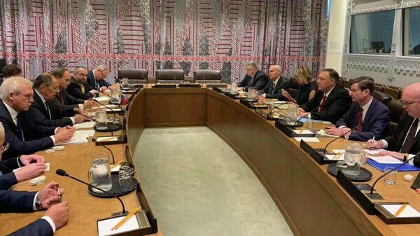 Российско-американские переговоры в Штаб-квартире ООН