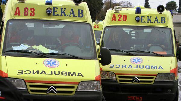 Машины скорой помощи в Греции