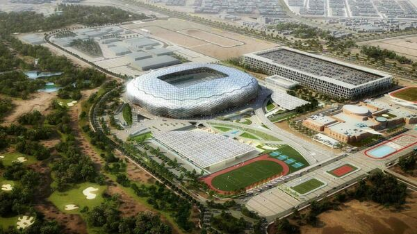 Футбольный стадион в Дохе