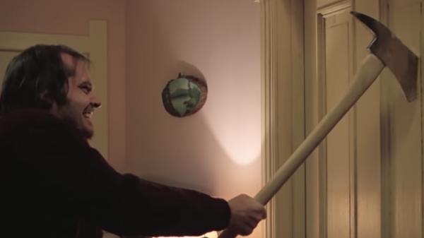 Кадр из фильма Сияние