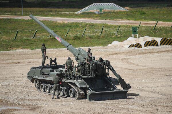 Самоходная артиллерийская установка Малка