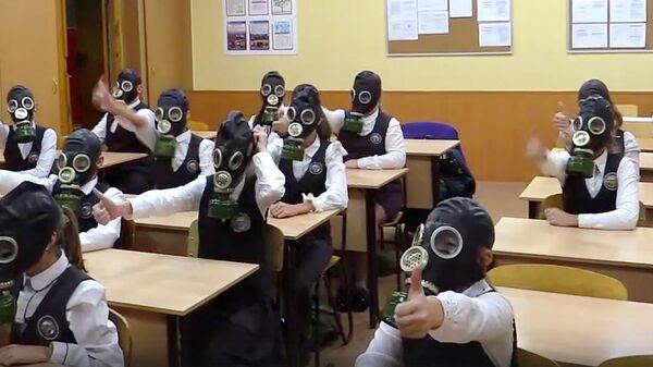 Всероссийский флешмоб МЧС России #GOМЧС в Новосибирске