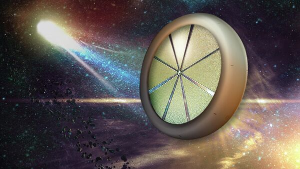 Космический зонд, летящий к облаку Оорта