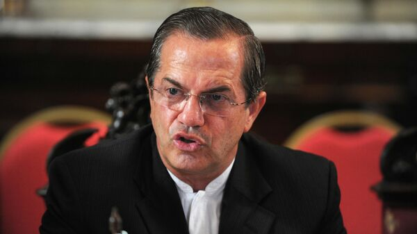 Бывший министр иностранных дел Эквадора Рикардо Патиньо