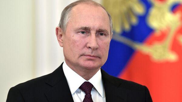 Путин поприветствовал участников экономического форума Россия — Африка