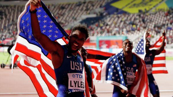 Спринтеры сборной США