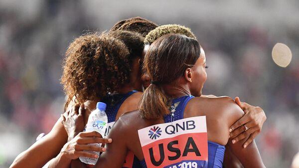 Бегуньи сборной США