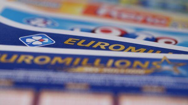 Билеты европейской лотереи EuroMillions