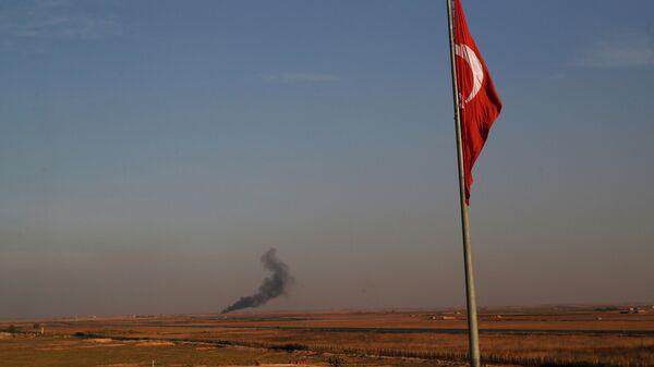 Обстрел сирийской территории турецкими силами. 9 октября 2019