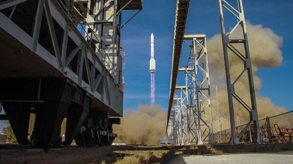 Пуск ракеты-носителя Протон-М