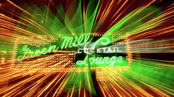 Клуб Green Mill Cocktail Lounge в Чикаго (фасад)