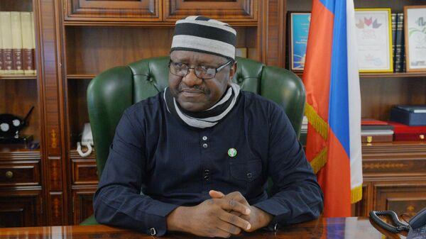 Посол Нигерии в РФ Стив Дэвис Угба