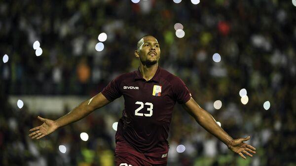 Нападающий сборной Венесуэлы Саломон Рондон