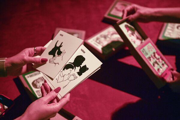 Настольные игры на выставке Час потехи в Государственном историческом музее в Москве