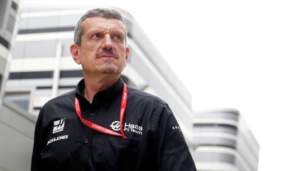 Руководитель команды Формулы-1 Хаас Гюнтер Штайнер