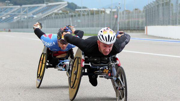 Состоялся V Международный полумарафон на спортивных колясках Рецепт-Спорт