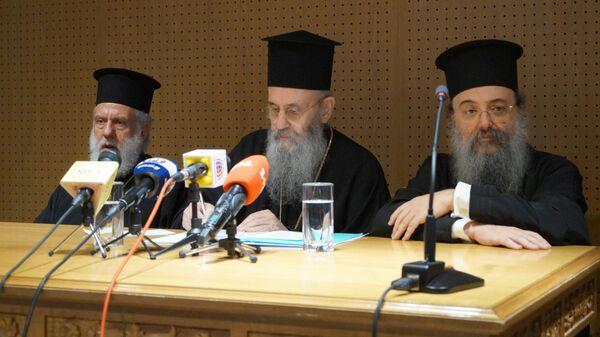 Официальное оглашения итогов Архиерейского Собора Элладской Церкви в Греции
