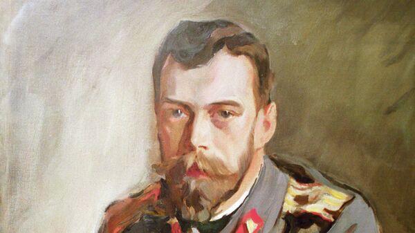 Репродукция картины Валентина Серова Портрет Императора Николая II